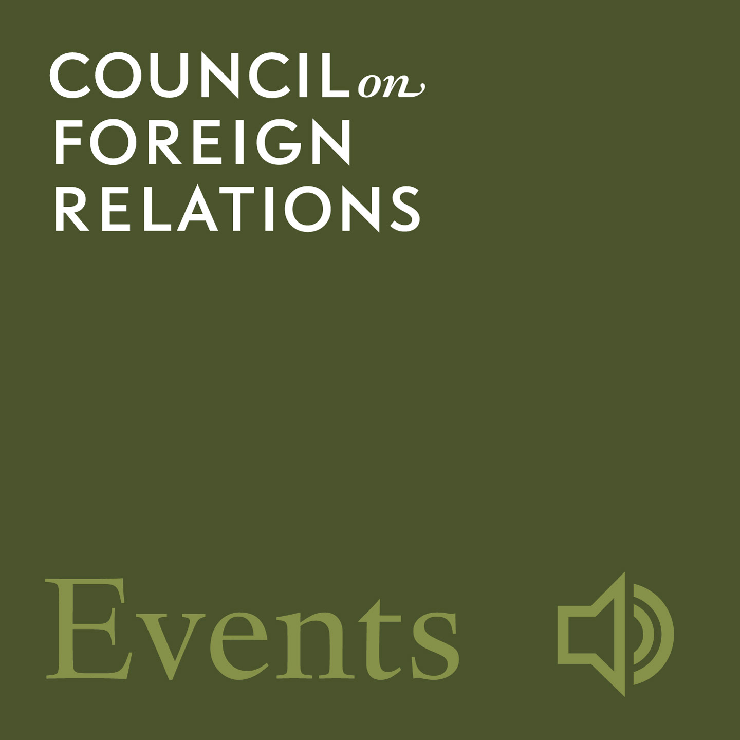 Inside CFR Events (Audio)