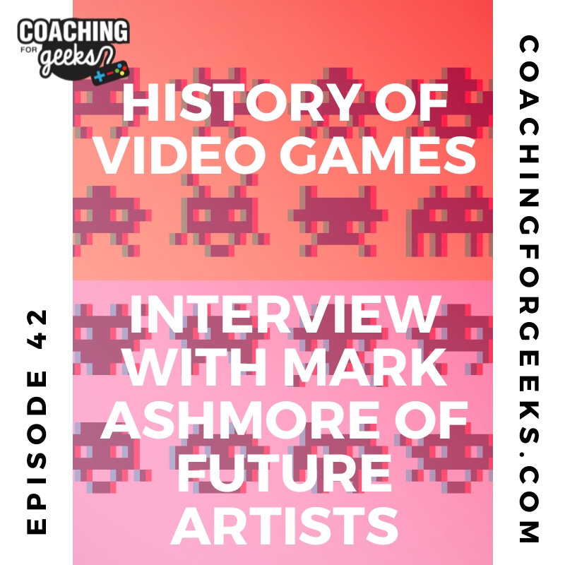 41: The History of Videogames exhibition - interview with Mark Ashmore of Future Artists