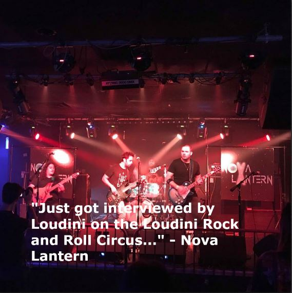 Rowdy Rock and Roll Upstarts, Nova Lantern, Cause Trouble all over Brooklyn and Points Beyond