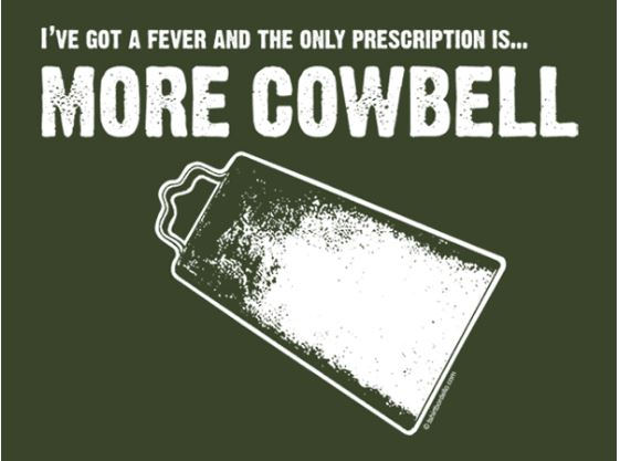 More Cowbell! Rock's Greatest Cowbell Moments Revisited!