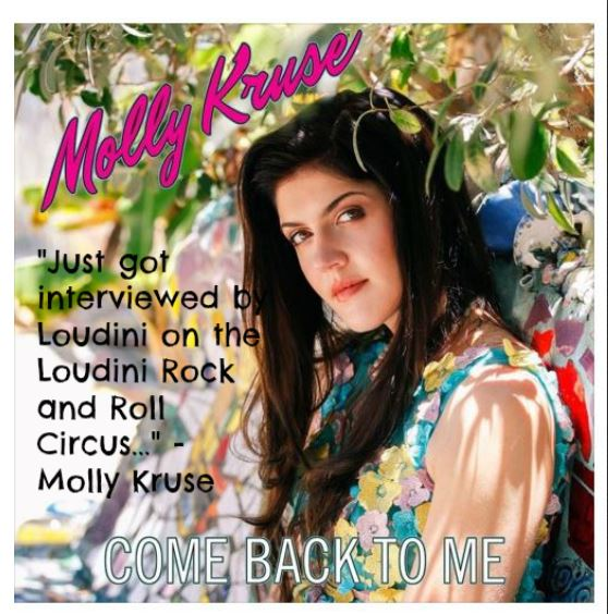 Molly Kruse… The Luckiest Woman in Music Today!
