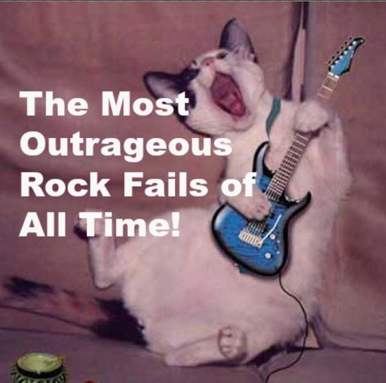 The Most Outrageous Rock Fails of All Time!