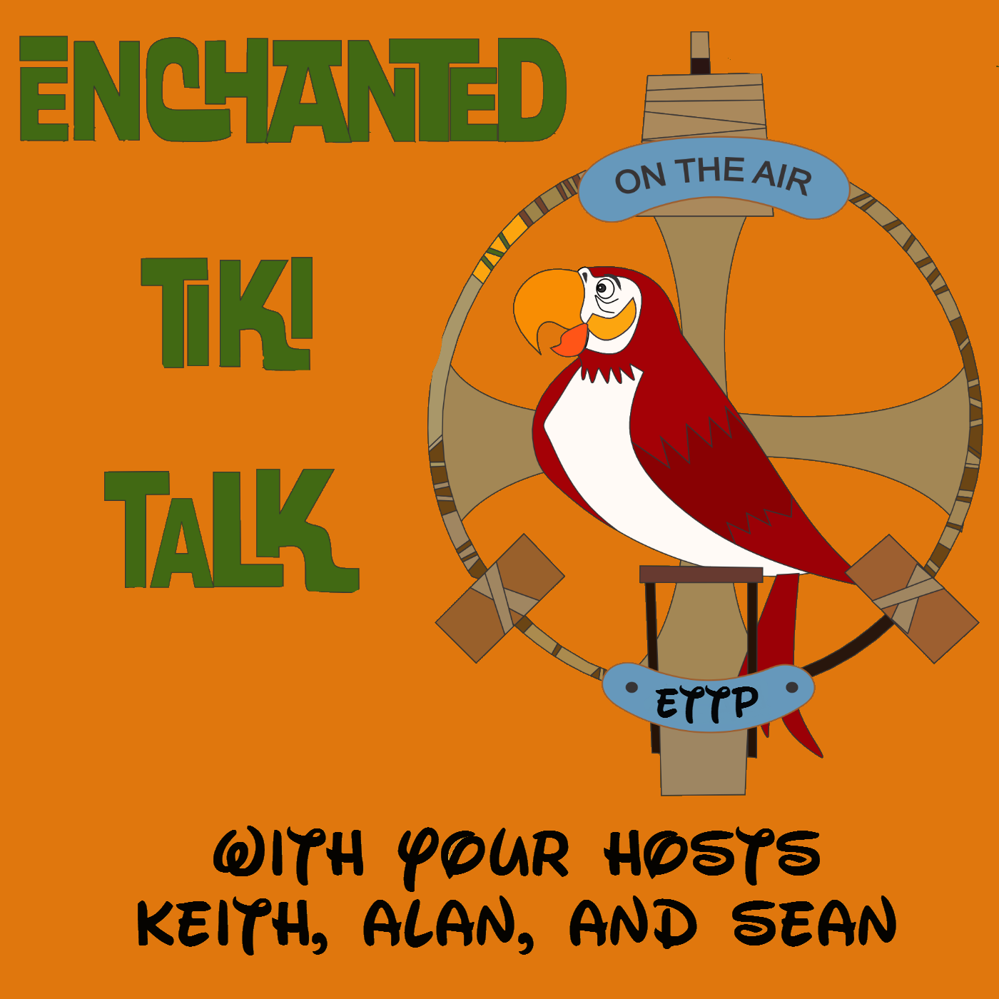 Enchanted Tiki Talk Podcast a Walt Disney World fan show