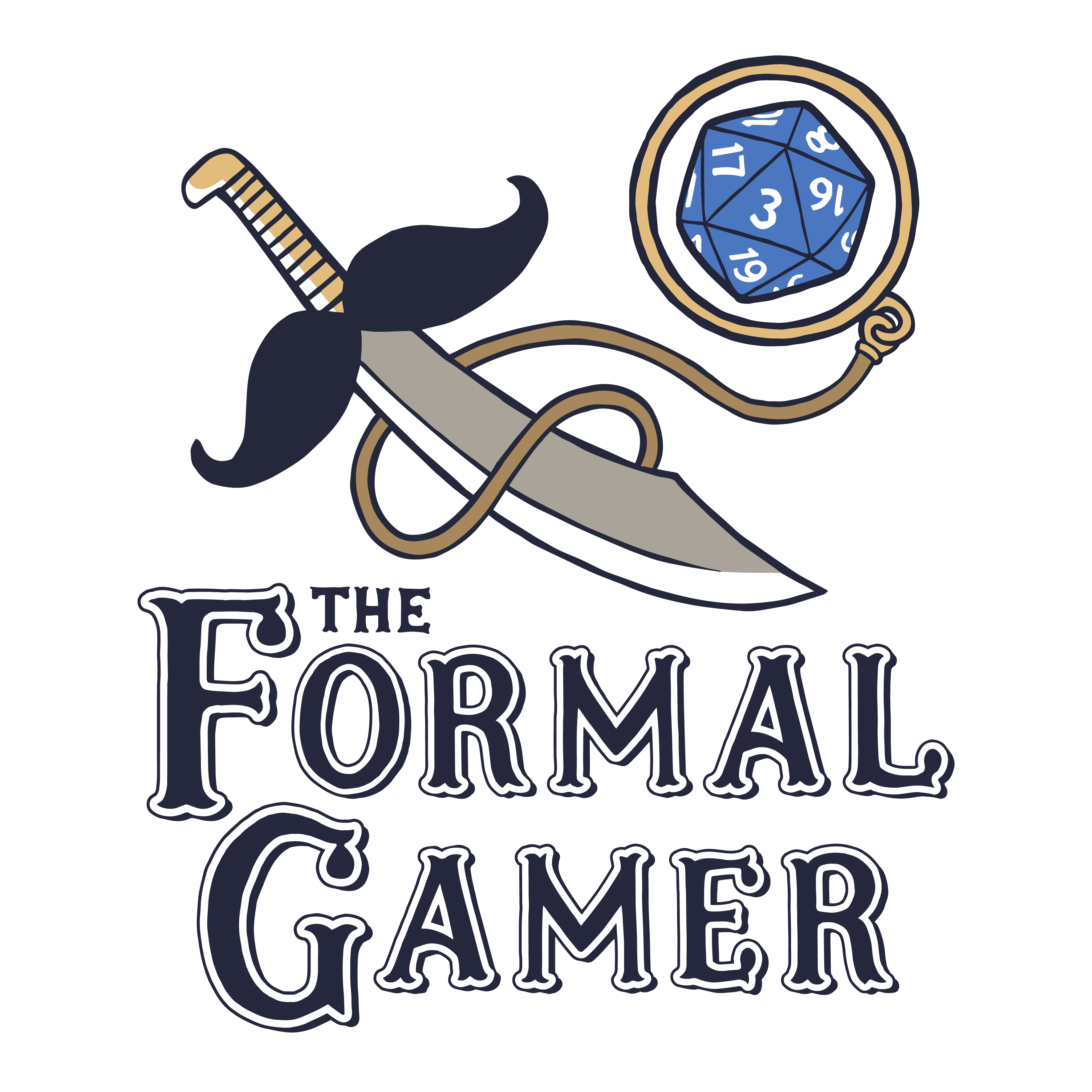 The Formal Gamer : A Dungeons and Dragons Podcast logo