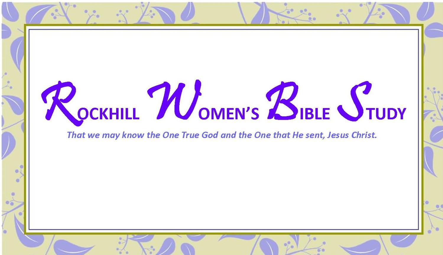 Rockhill Women's Bible Study