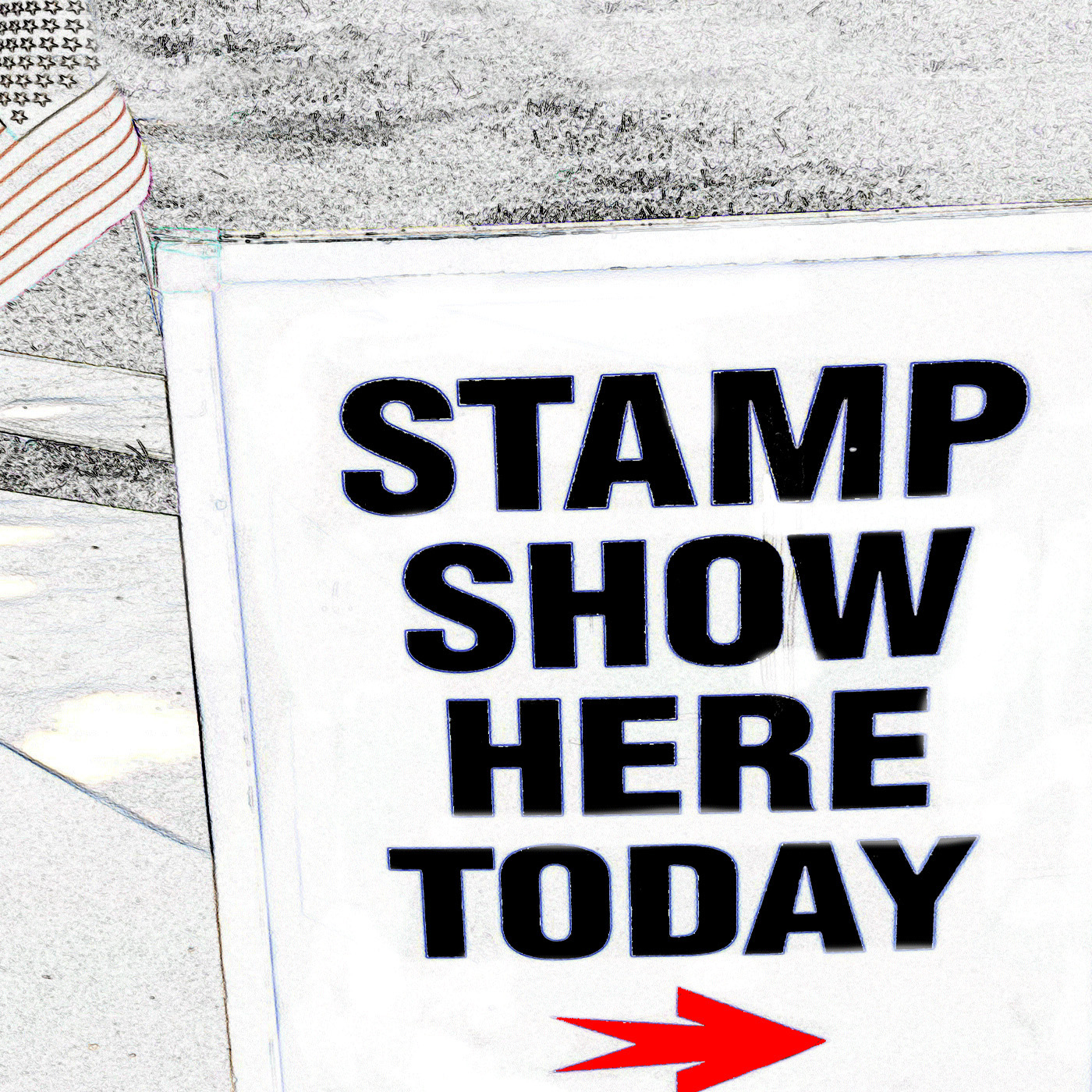 Stamp Show Here Today The Postage Stamp Collecting