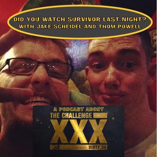 Did You Watch Survivor Last Night?