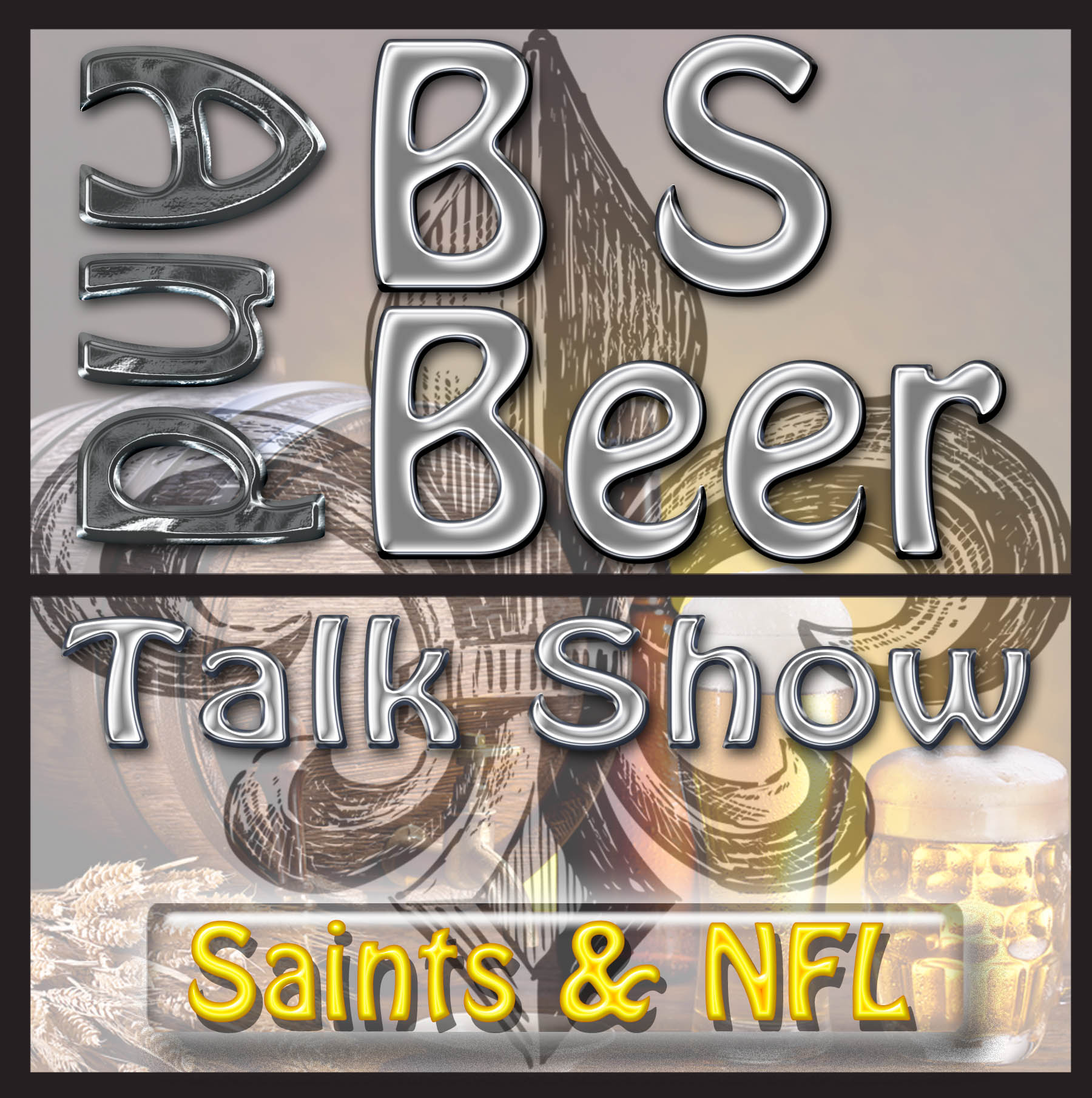 BS and Beer New Orleans Saints Football