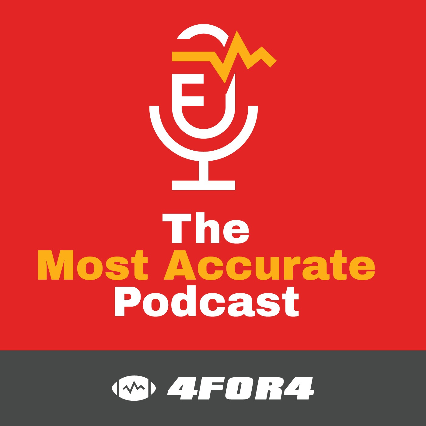 The Most Accurate Podcast: Fantasy Football News & Strategy by 4for4