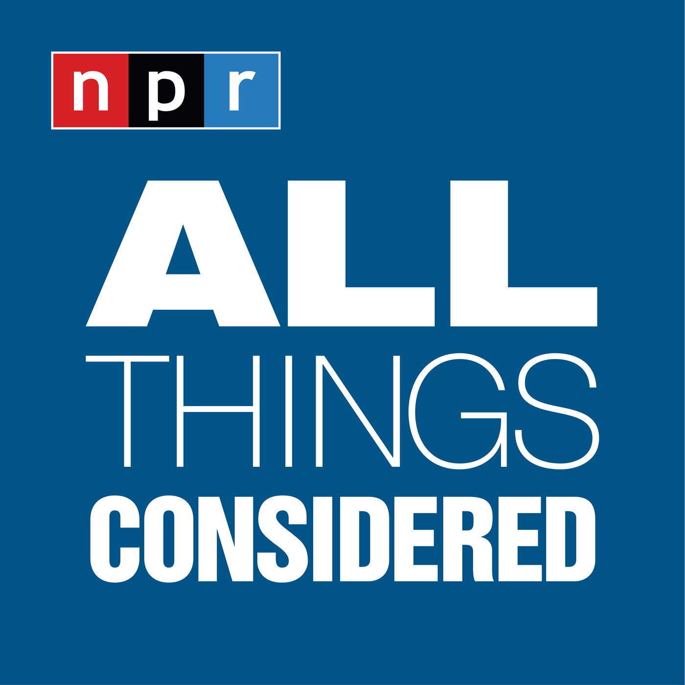 NPR Programs: All Things Considered (in order aired)