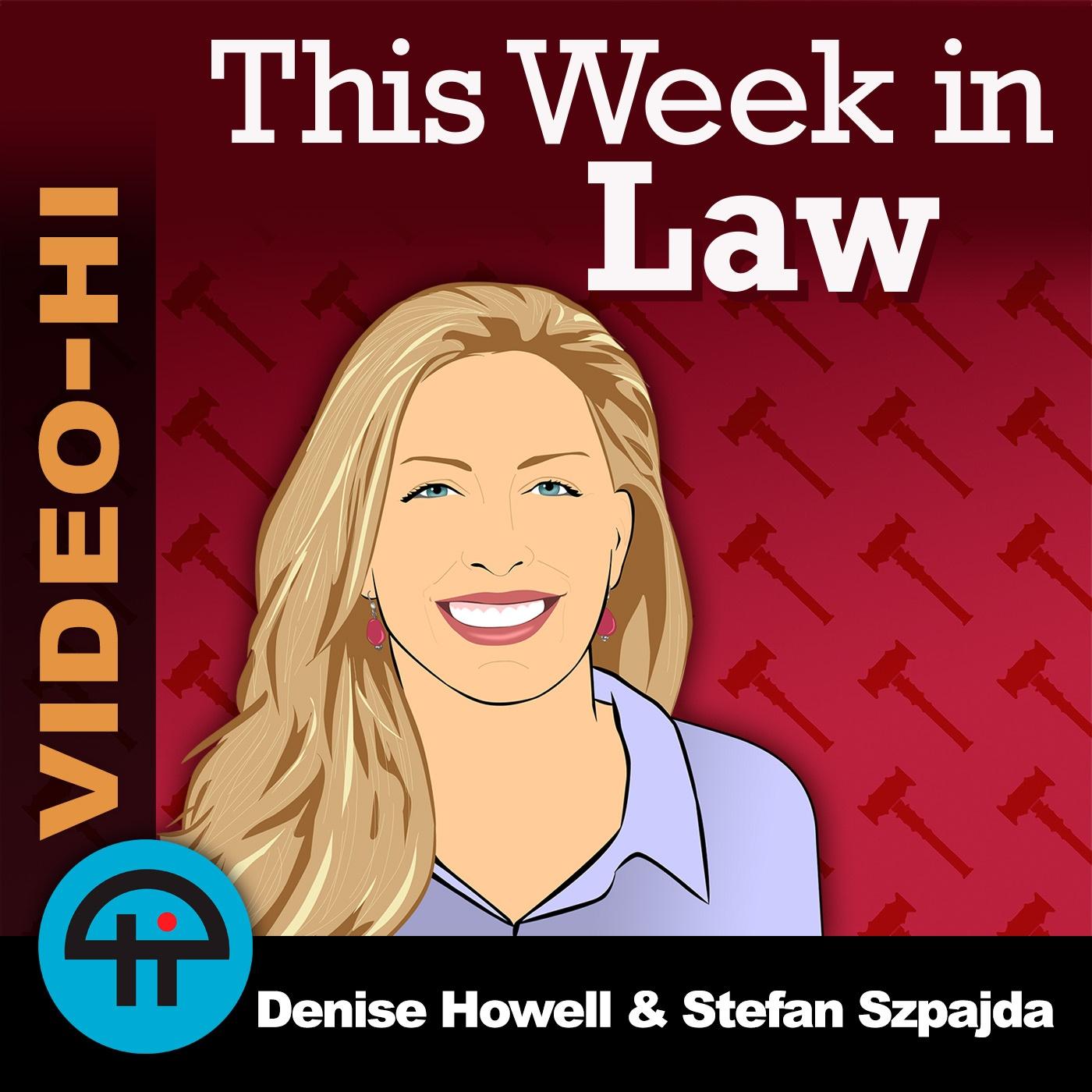 This Week in Law (Video-HI)