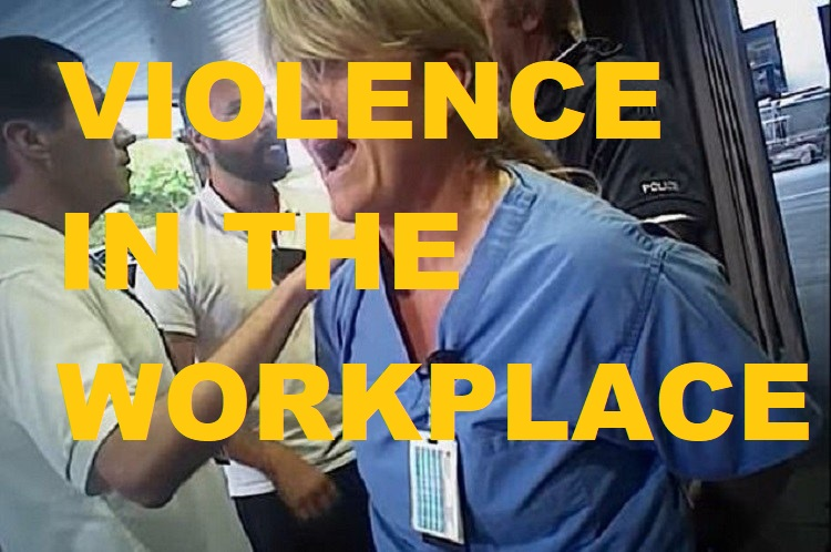 "Episode 12 - Violence in the Workplace: ""I'm sorry, we don't do brain transplants."""