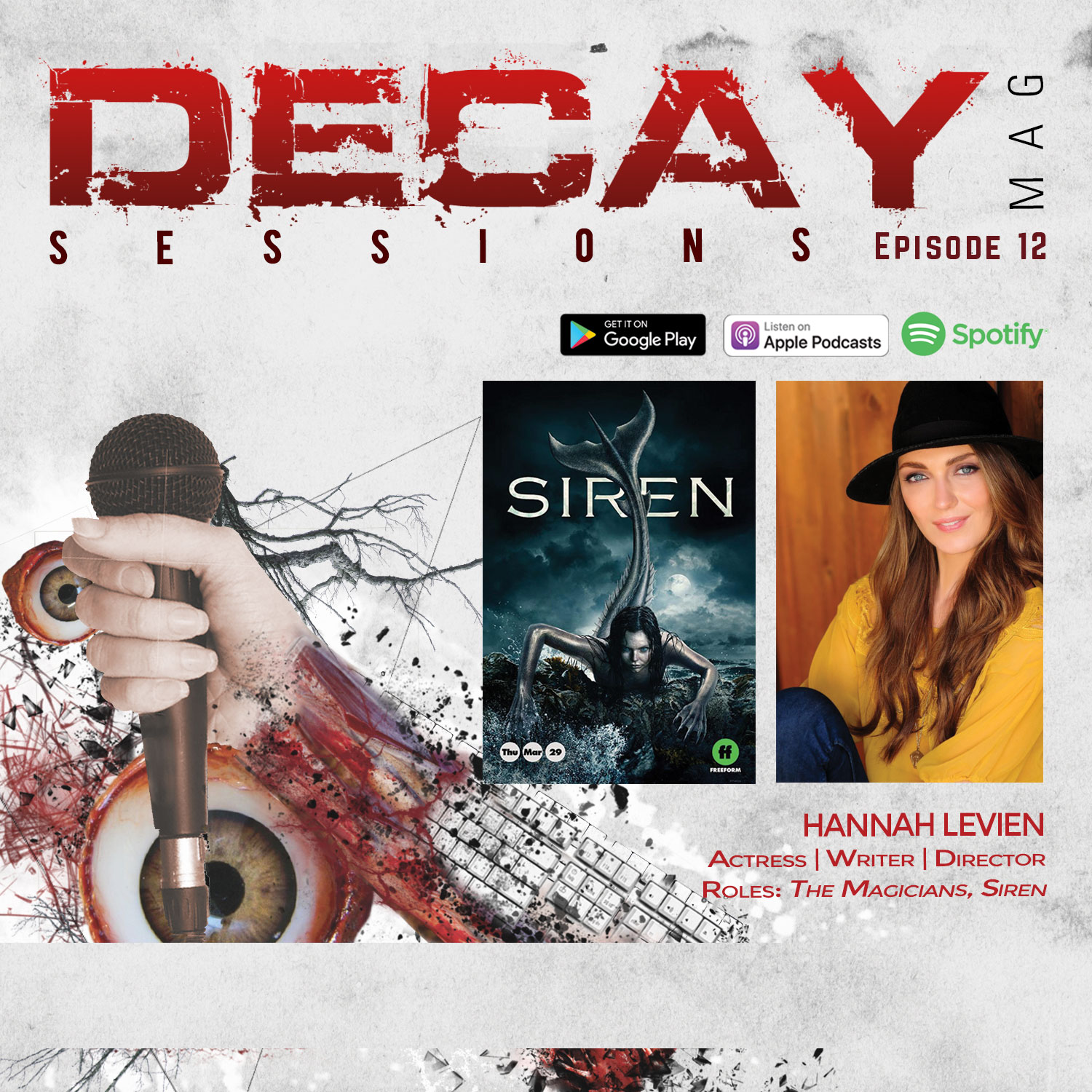 DecayMag Sessions EP 12 Exclusive Interview with Actress Hannah Levien