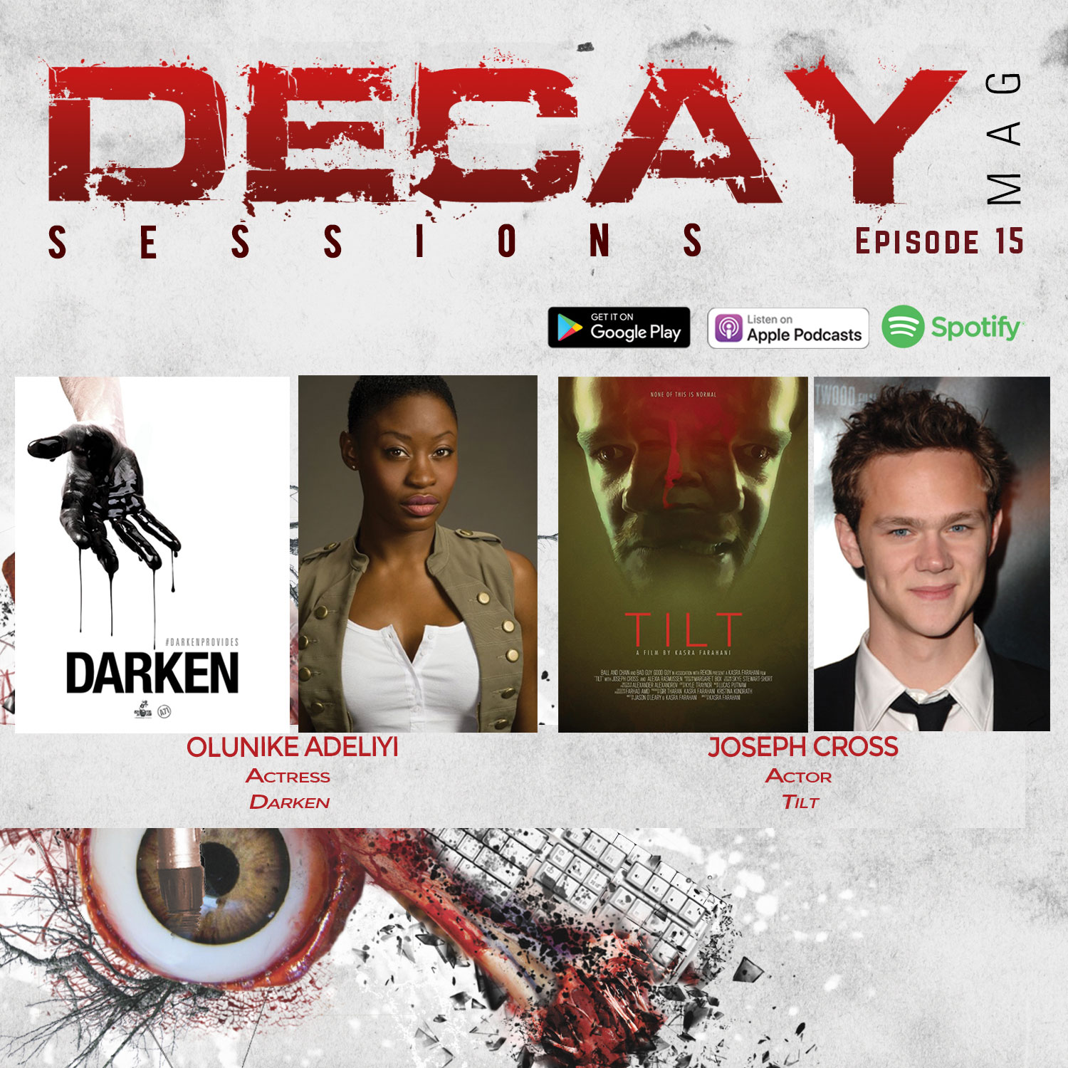 DecayMag Sessions EP 15 Exclusive Interview Actress Olunike Adeliyi, Actor Joseph Cross