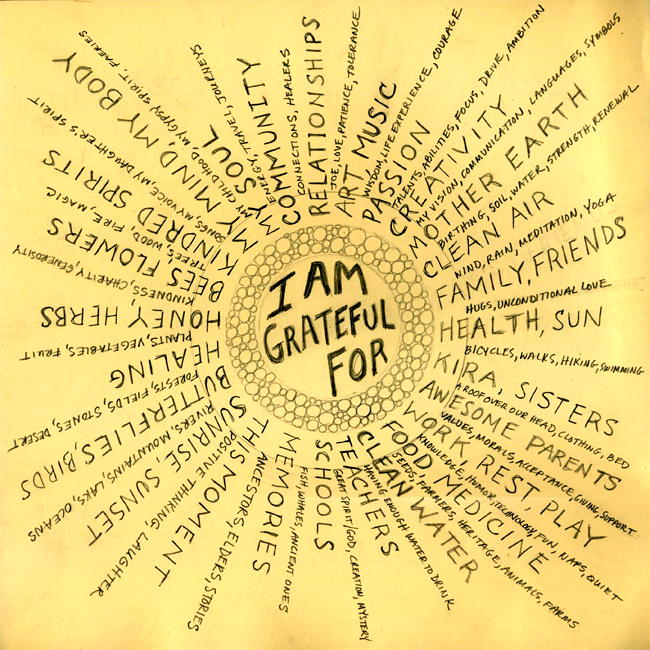 59 the attitude of gratitude - Fear of small space pict ...