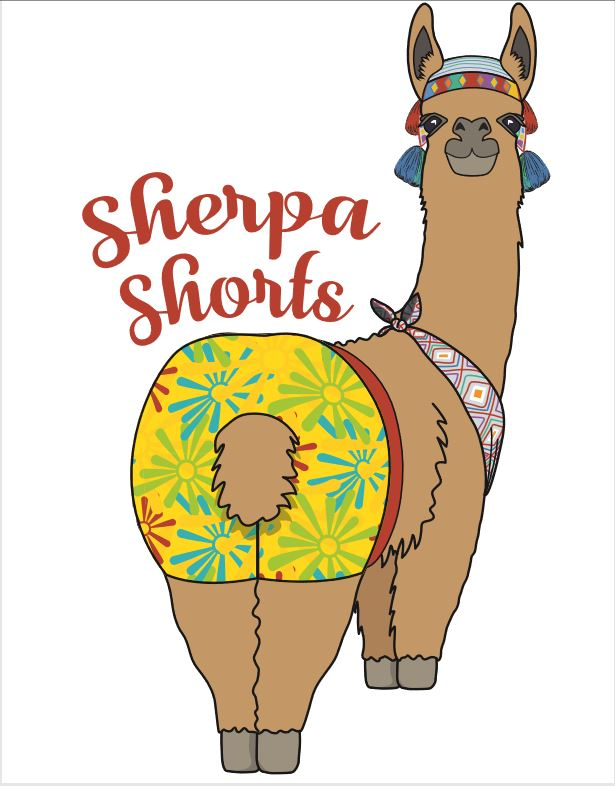 Sherpa Shorts -- The Letter G