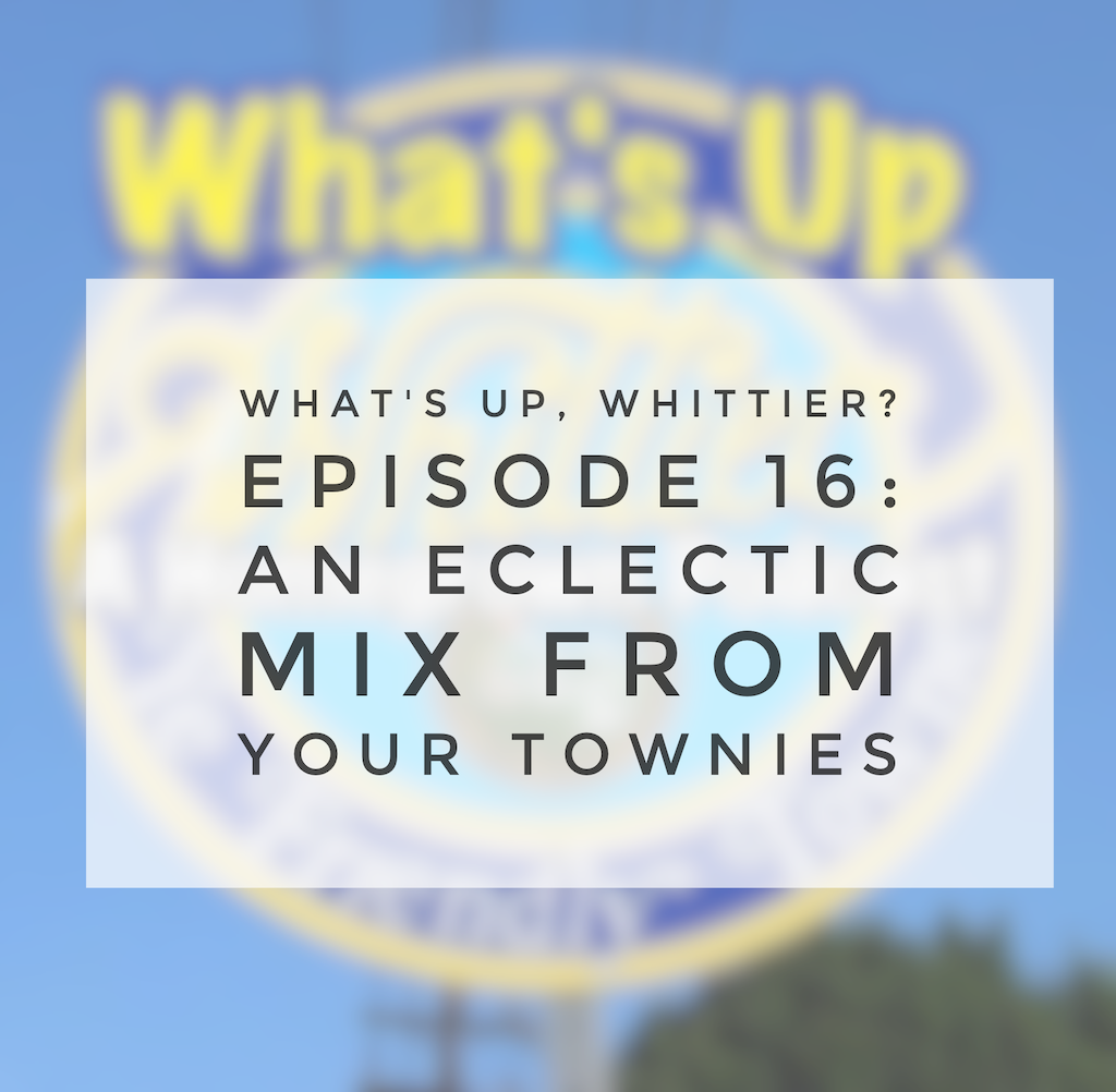 Episode 16: AN ECLECTIC MIX from your townies!