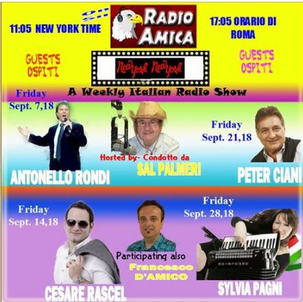 New York Italian Radio 12/29/2017