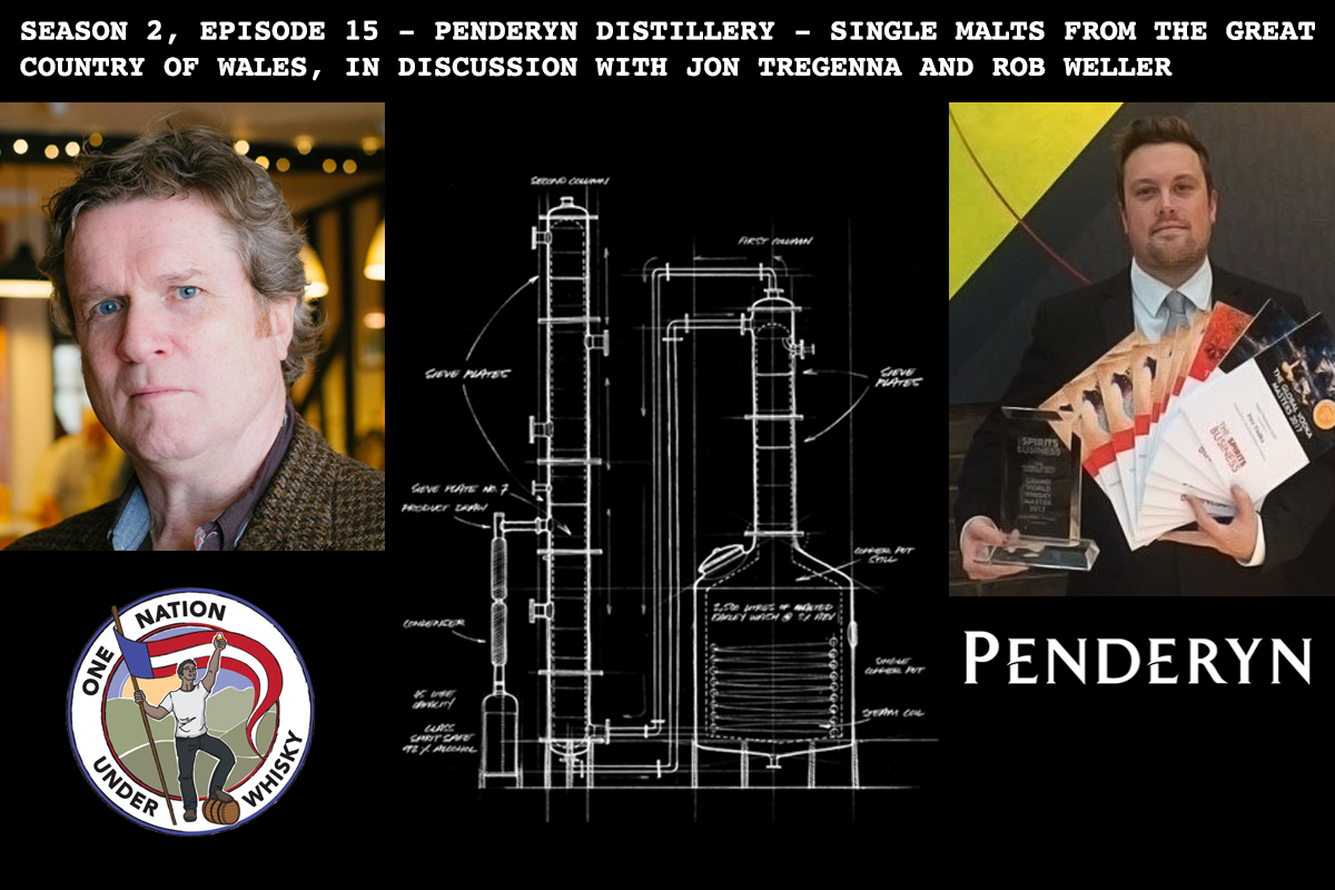Season 2, Ep 15 - Penderyn distillery - talking Welsh single malt with Jon Tregenna and Rob Weller of Penderyn Distillery