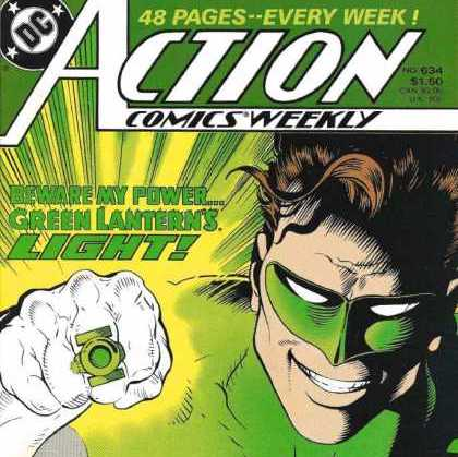 Cosmic Treadmill ep. 116 - Action Comics Weekly: Green Lantern Part Three (1988/89)