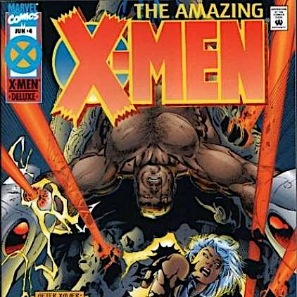 Cosmic Treadmill ep. 103 - Marvel Comics' Age of Apocalypse Part Four: Amazing X-Men #4 (and finishing the other half of the issues!) 1995