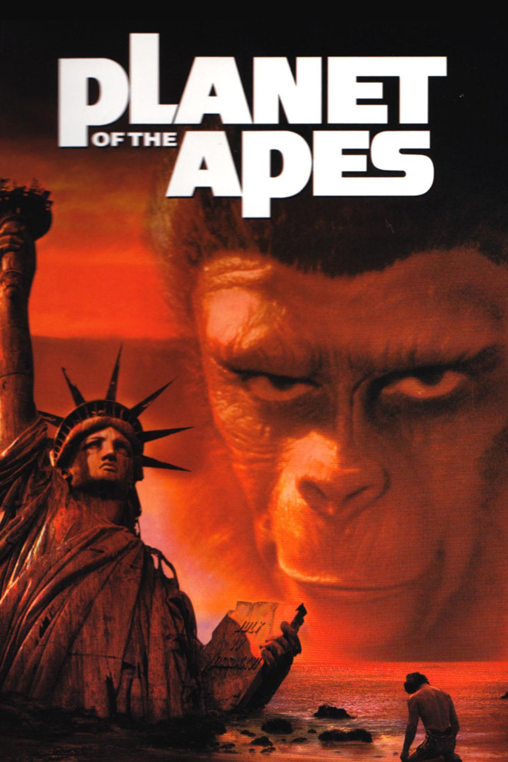 a review of the science fiction planet of the apes