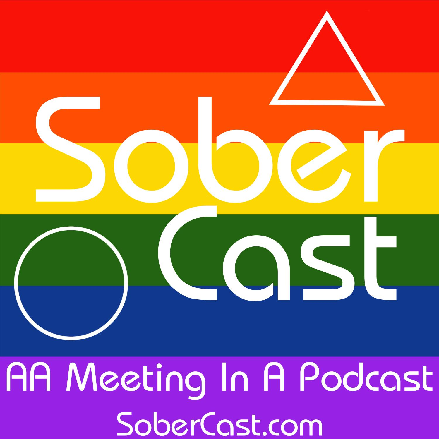 Lisa W at the living sober roundup in San Francisco in 2014 (LGBTQ)