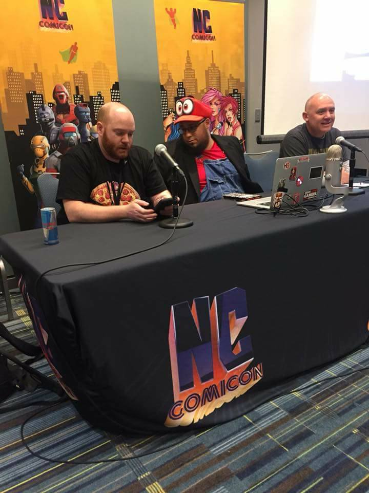 Finding God In Comics Panel at NC Comicon Oak City