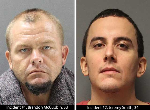Recent Arrests in Two Separate Thefts