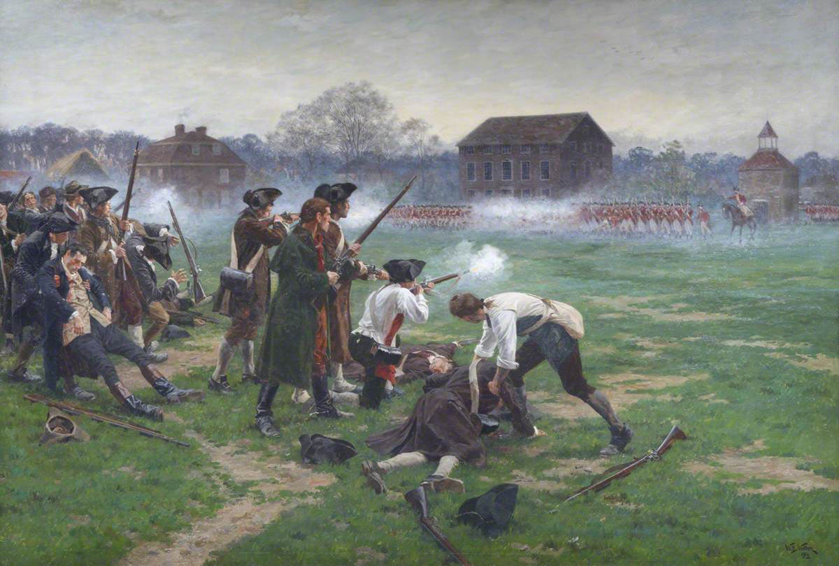 Episode 054: British Advance on Lexington and Concord