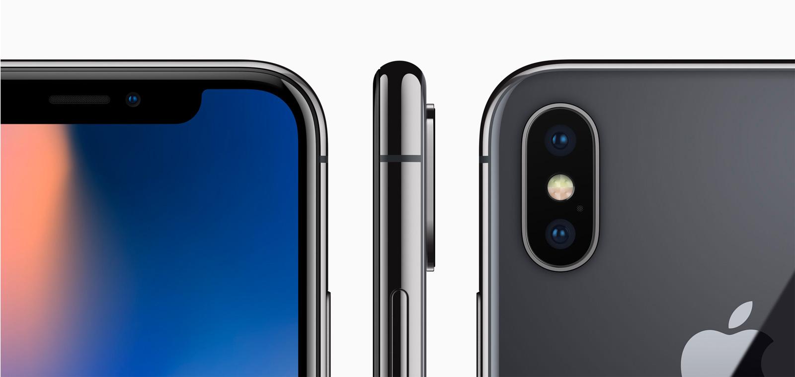 El iPhone X logra diferenciarse en un mar de smartphone
