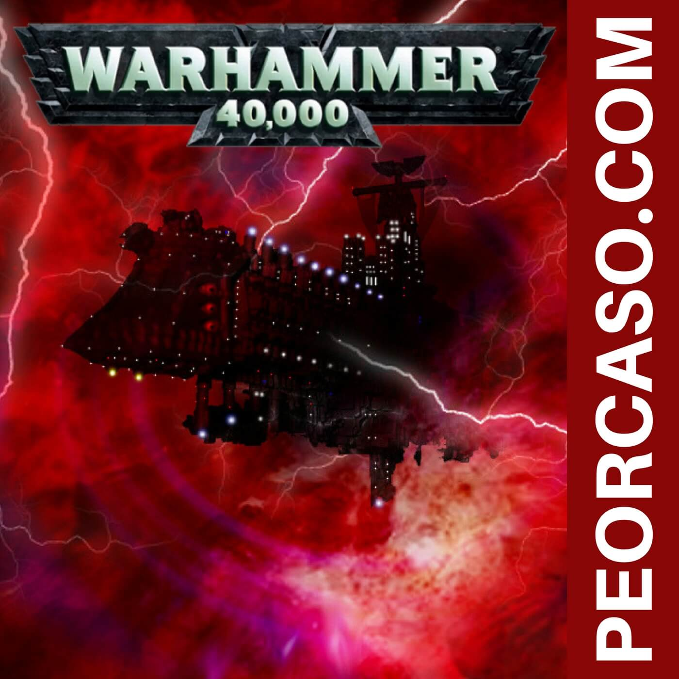 28 - Warhammer 40000 - Wargame, marines espaciales, warp, chaos, games workshop