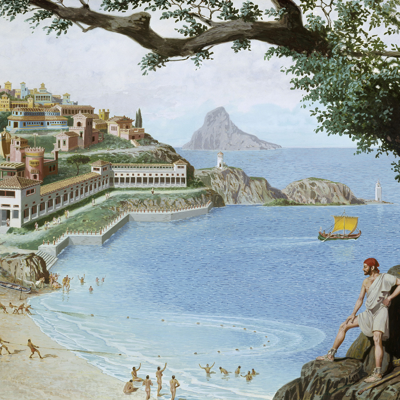 How Ancient Rome's 1% Hijacked the Beach