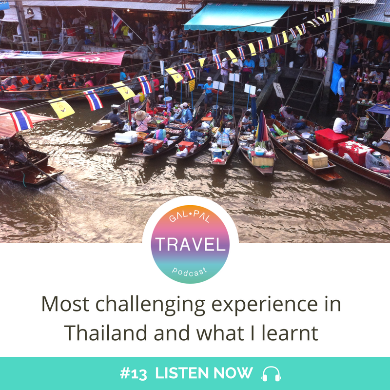 13: Most challenging experience in Thailand