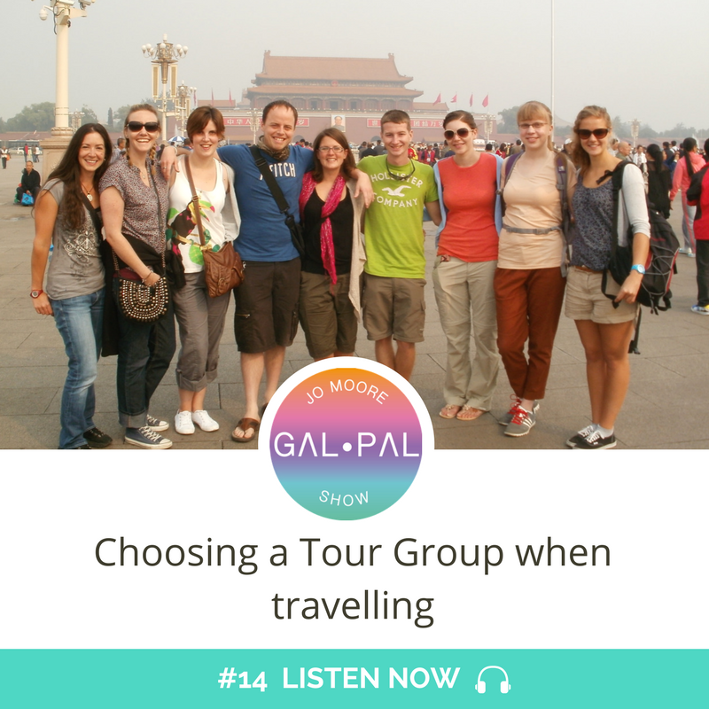 14: Choosing a Tour Group when travelling