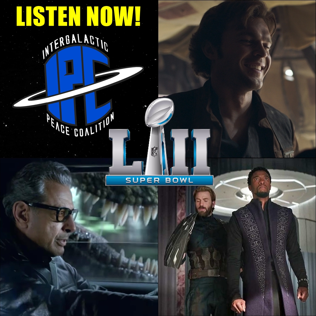 #180: 2018 Super Bowl Trailers | The IPC Podcast LIVE