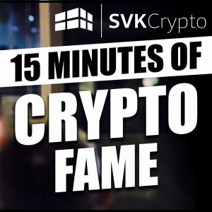SVK CRYPTO PODCAST 219 - 10/09/2018 - GEMINI LAUNCH FDIC INSURED STABLE COIN!