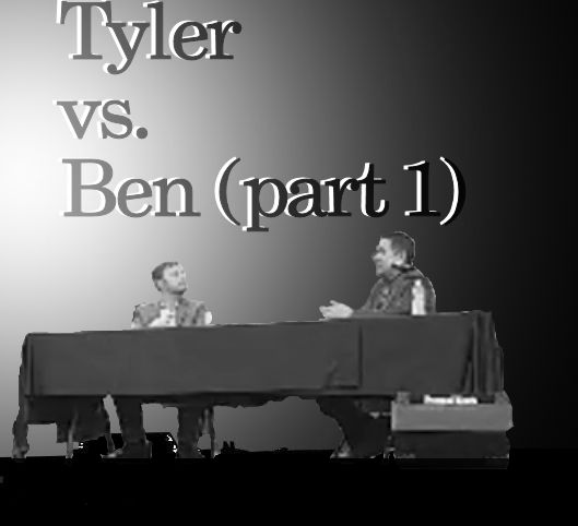 Tyler Vela and Ben Watkins Debate on Evil and God [part 1]