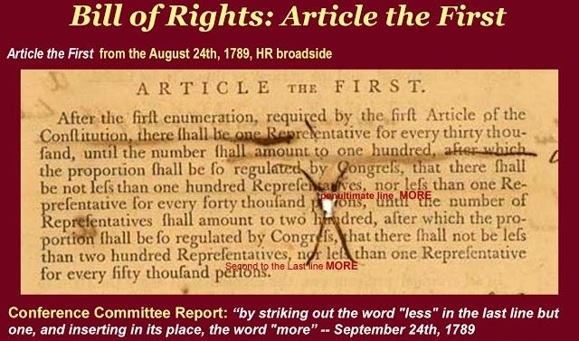 The Forgotten First Amendment