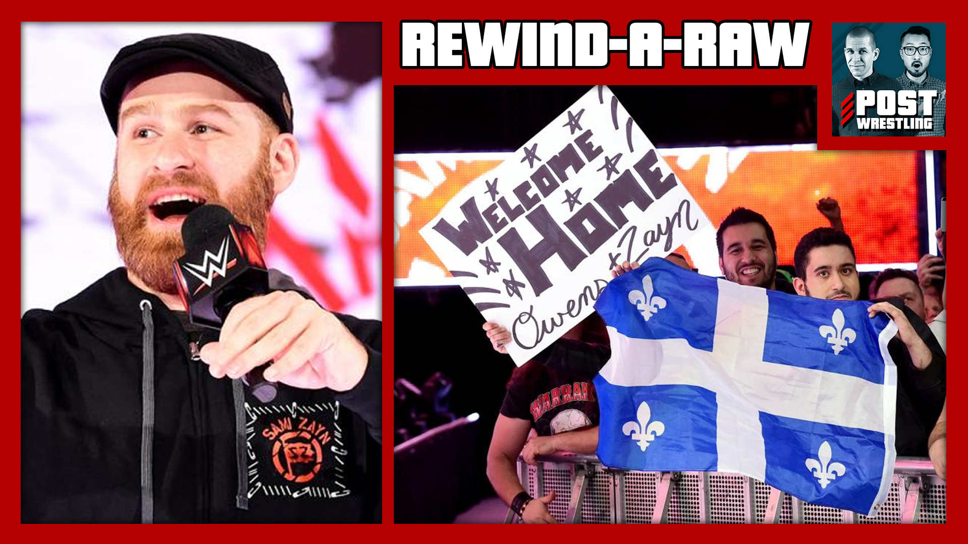 REWIND-A-RAW 4/30/18: Owens & Zayn's Homecoming, GRR Fallout, Avengers