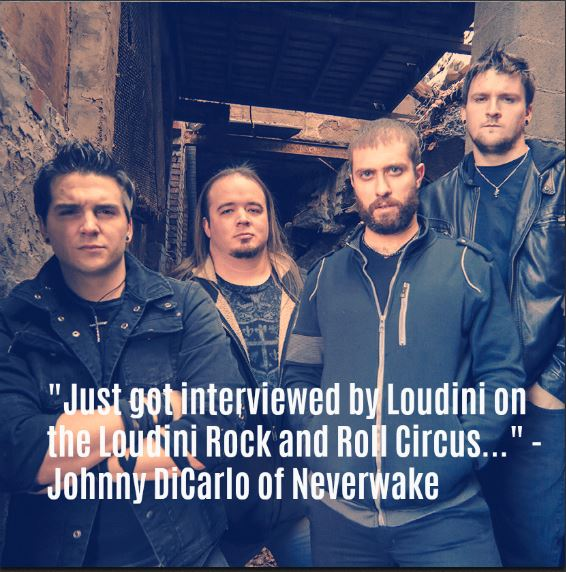 Neverwake over comes their demons, with hard hitting rock and roll