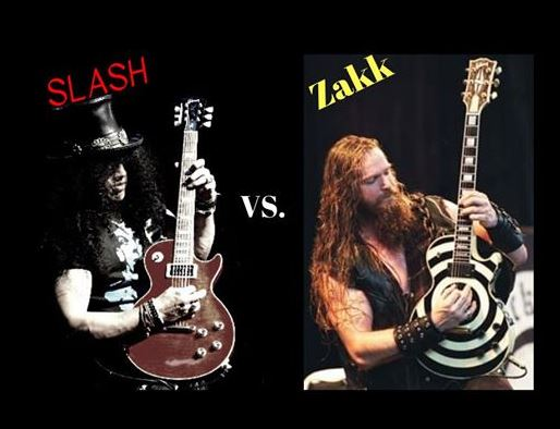 Slash vs Zakk