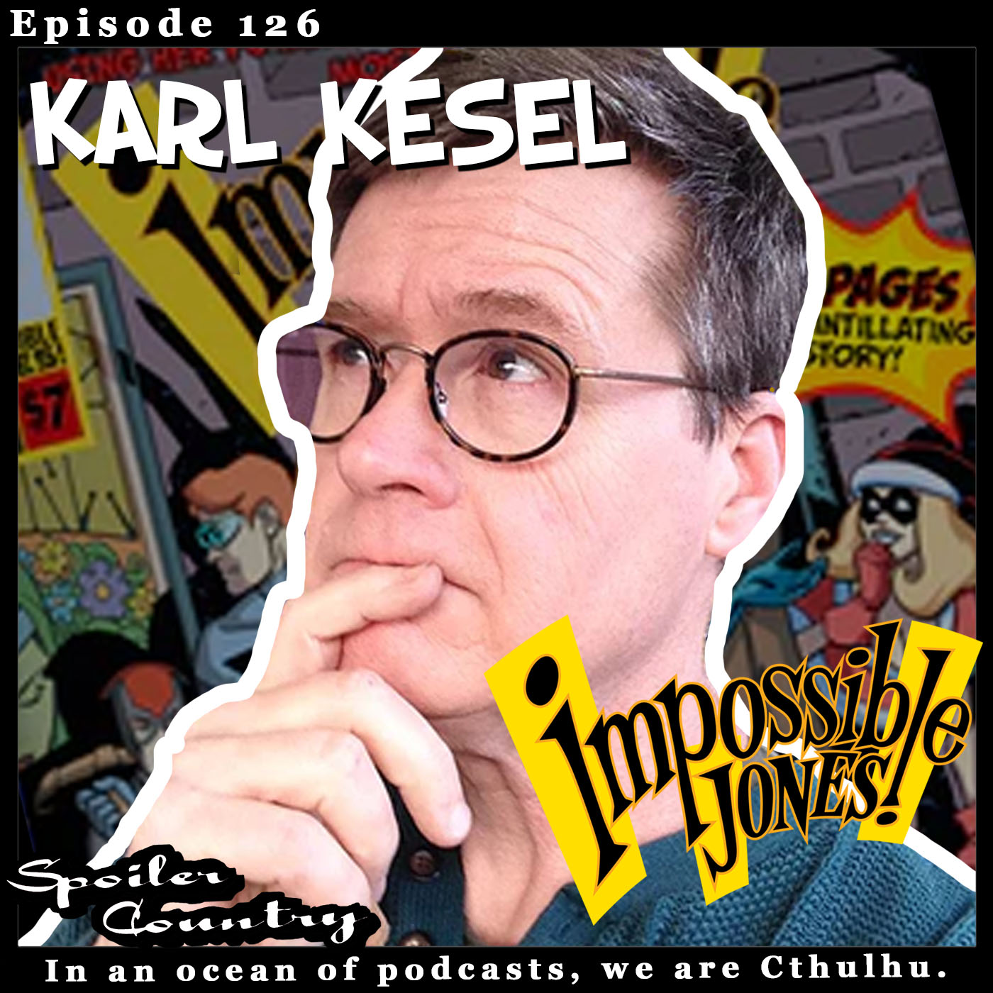 Karl Kesel and Impossible Jones!
