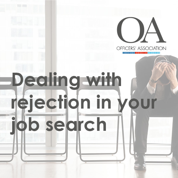 Dealing with rejection in your job search