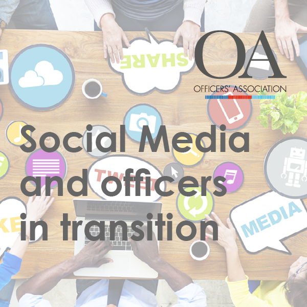 Social Media and officers in transition