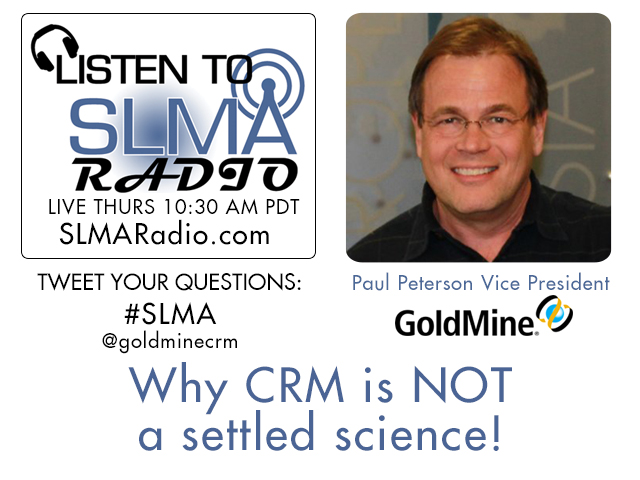 Why CRM is NOT a settled science!