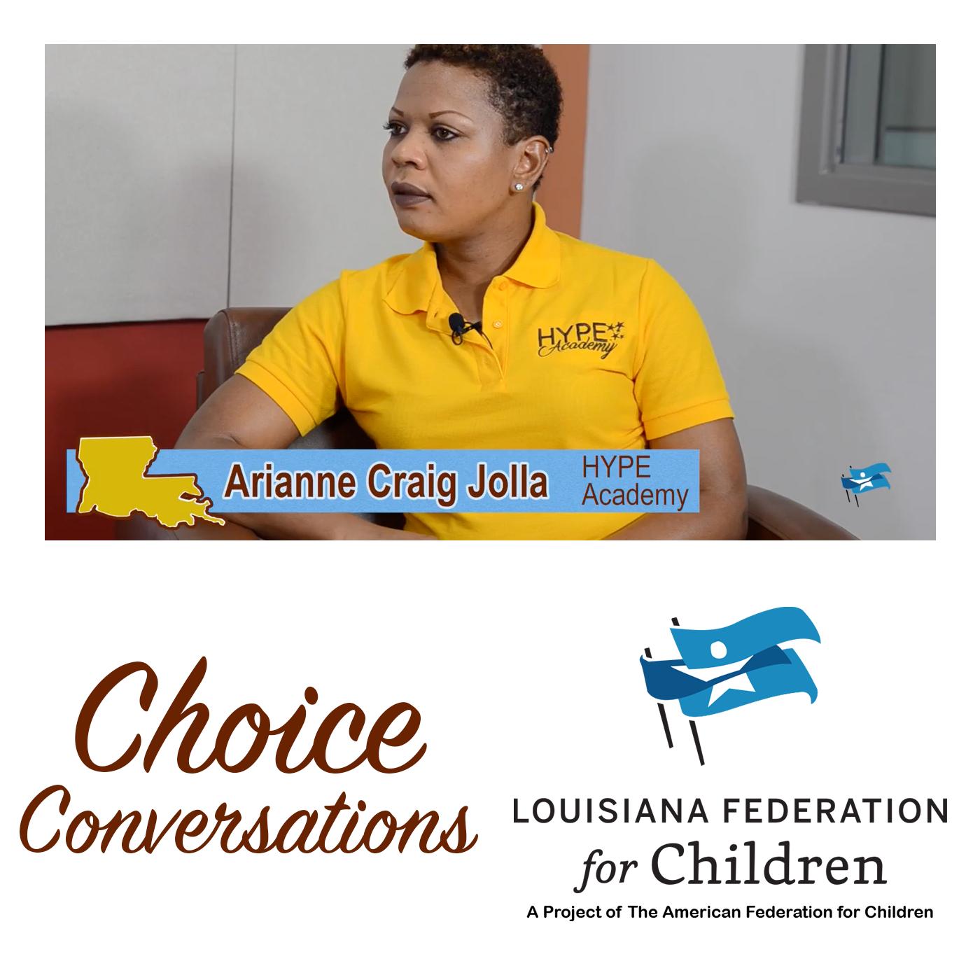 Arianne Craig Jolla – Founder, HYPE Academy (New Orleans, LA)