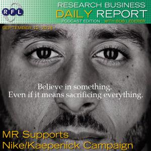 MR Supports Nike/Kaepenick Campaign
