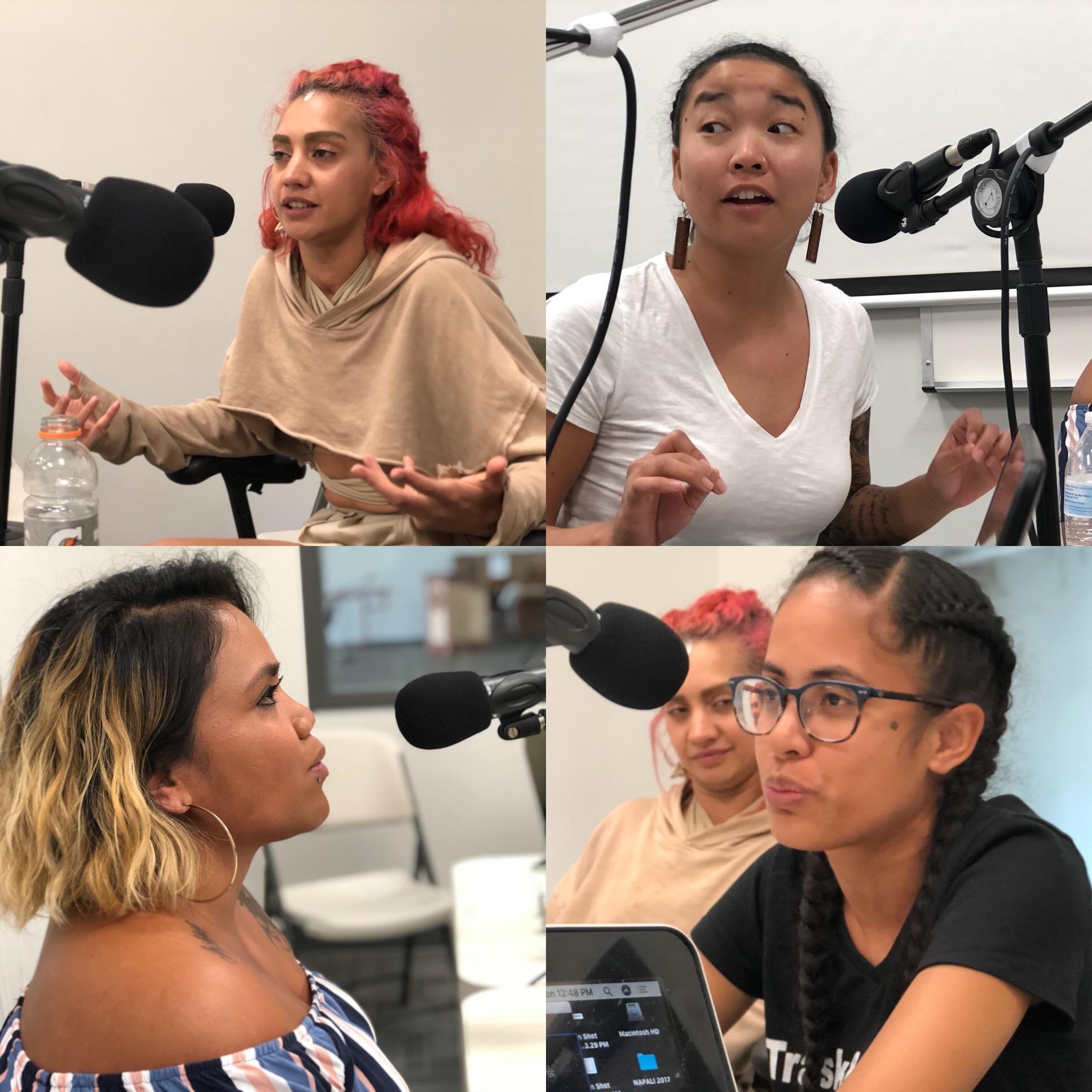 Talanoa with Pasifika Artists Jocelyn Ng, Teresa Siagatonu, Kathy Jetnil-Kijiner and Jahra Rager Wasasala.