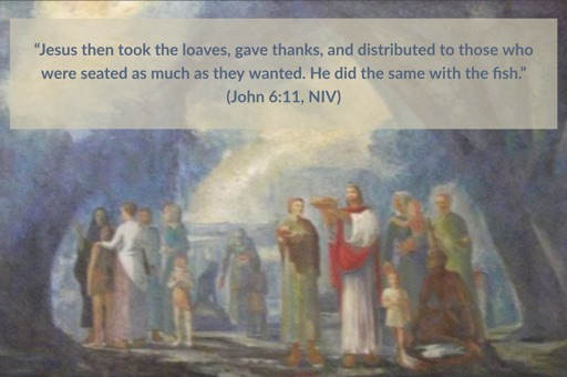 Thanksgiving: Jesus Feeds the Multitude